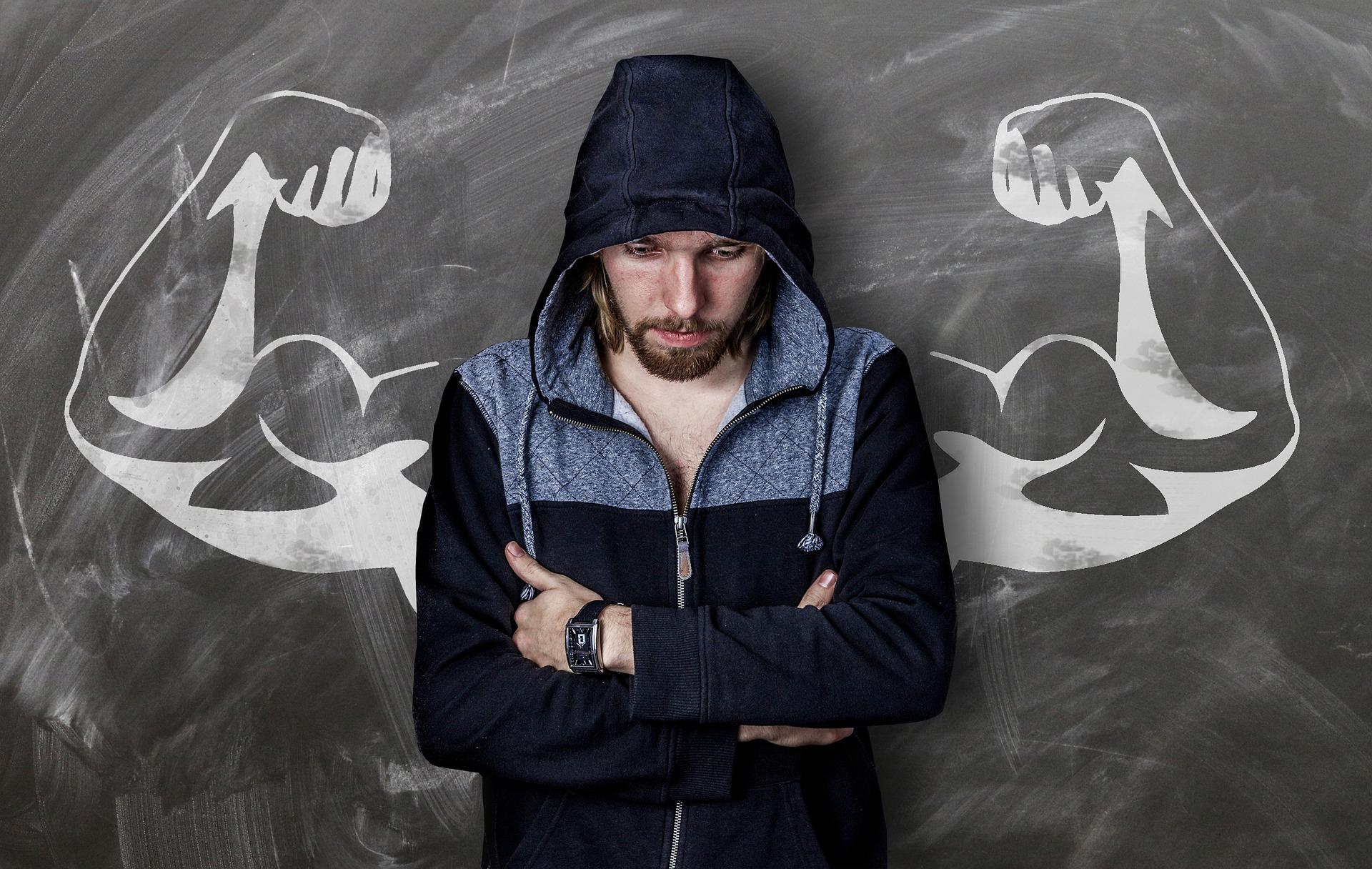 Vaše mysl určuje zda jste silným nebo slabým (Public Domain)