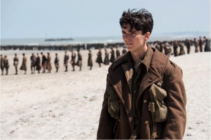 Fotografie z filmu Dunkerk.