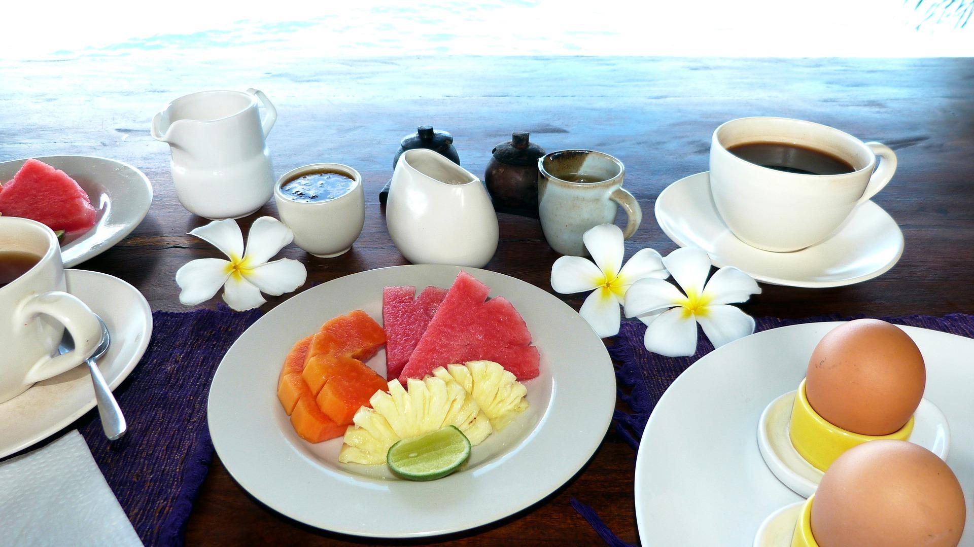 Foto: Kulinářské speciality na Bali se skládají hlavně z ovoce a dalších druhů zeleniny, která je zdravá (Public Domain)